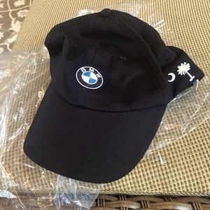 BMW Hat.  Brand new STILL IN PLASTIC BAG